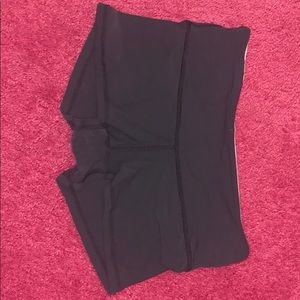 Gray Lululemon run speed speed shorts